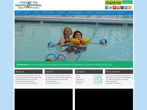 Chesapeake bay aquatic & physical therapy