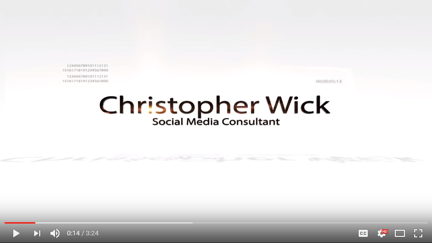 Christopher Wick: Professional Speaker